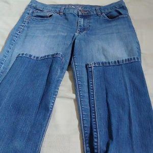 New York & company skinny lowrise jeans sz 8